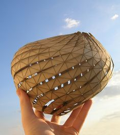 Digitally-Deconstructed Asymmetric Sphere by Brett Wolfe