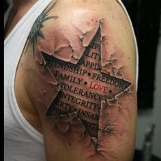 Not really into tattoos but this is badass!