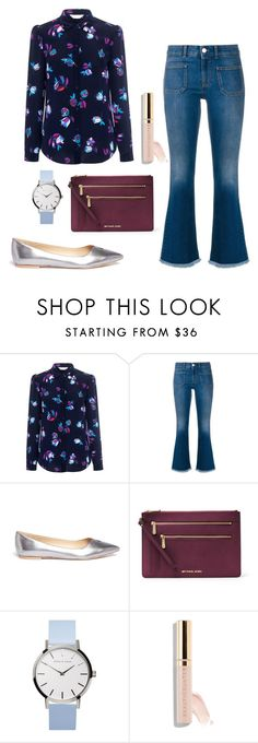 """""""Travel in style"""" by magnolialily-prints ❤ liked on Polyvore featuring Rebecca Taylor, STELLA McCARTNEY, Sam Edelman, MICHAEL Michael Kors and Beautycounter"""