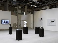 Lily Reynaud-Dewar, Some objects blackened and a body too, 2011. Installation view, 'La Triennale, Intense Proximité', Paris, 2012. Courtesy the artist and Mary Mary, Glasgow