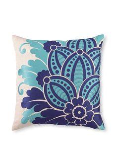 "D.L. Rhein Waikiki Linen Pillow 20"" x 20"""