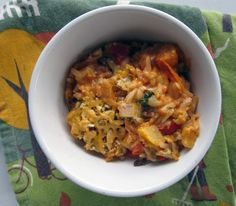 late summer comfort food - vegetable and orzo bake from everybody likes sandwiches