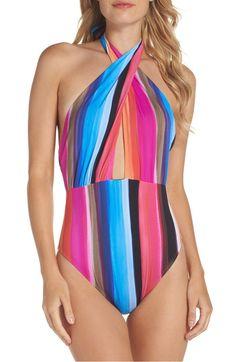 Nord 130    -    Main Image - La Blanca Horizon One-Piece Swimsuit