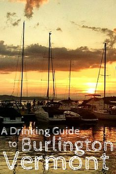 Burlington, Vermont sits on Lake Champlain in the top corner of the US. It is a city filled with delicious food, ways to get active, and excellent drinking. Here are some of the top spots to grab a drink in Burlington, Vermont.