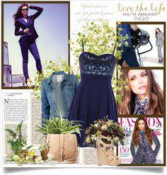 """Nina Dobrev fashion magazine"" by ketusa ❤ liked on Polyvore"