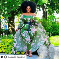 Nakitende Esther   wearing  @demarie apparels