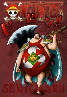 One Piece 599 Sentomaru by Infernoll on DeviantArt