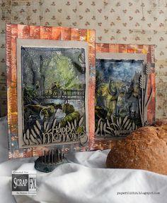 Farm cards by Riikka Kovasin for Scrap FX