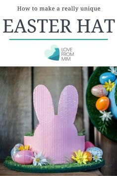 How to make a Unique Easter Parade Hat - Love from Mim Easy Easter DIY Craft Easter Parade Bonnet Easter Bonnet Craft Activities For Kids, Learning Activities, Easter Ideas, Easter Crafts, Parenting Advice, Kids And Parenting, Easter Hat Parade, Easter Bonnets, Fun Diy Crafts