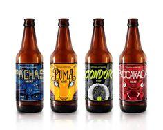 La Mansión Cervecería on Packaging of the World - Creative Package Design… Beverage Packaging, Bottle Packaging, Bottle Labels, Beer Bottles, Beer Labels, Beer Label Design, Bottle Design, Packaging Design Inspiration, Craft Beer