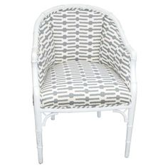 Check out this item at One Kings Lane! Faux-Bamboo Armchair
