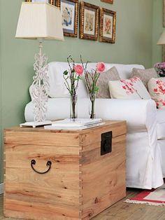 Ideas para decorar con baúles