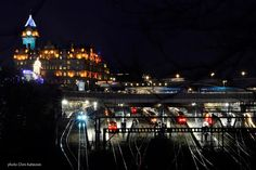 Travel in Clicks: Catcing the night train