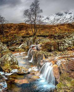 Glen Etive in Glencoe, Scotland - by Dean Allan Outlander, Glen Etive, Scotland Landscape, England And Scotland, Vacation Places, Vacations, Scottish Highlands, Scotland Travel, Science And Nature