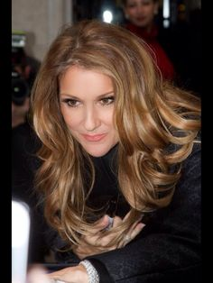 Celine Dion- perfect hair