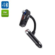 Car FM Bluetooth Transmitter bring Bluetooth connectivity to your car stereo so you can wireless stream music from your phone or music player