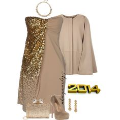 New Years Eve Party, created by arjanadesign on Polyvore