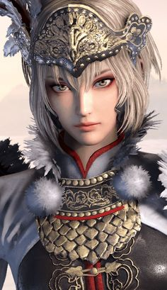 Lu lingqi daughter of lu bu and an extraordinary fighter like her father
