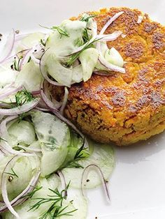 These Chickpea–Sweet Potato Burgers Will Rock Your #MeatlessMonday