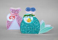 Ariel The Little Mermaid Gift Box Set Favor Box by JoJoDigitalStore