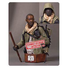 The Walking Dead Morgan Deluxe Mini Bust