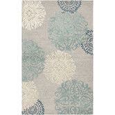 Found it at AllModern - Amerique Hand-Tufted Light Gray Area Rug