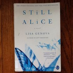 Still Alice by Lisa Genova - Enjoyment of this book is directly related to your age and level of forgetfulness. I'd call 40 as the midpoint.