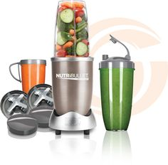 NutriBullet Pro 900    So easy Anyone can use it    First fill the cup with your favorite fruits and vegetables. Then add liquid to the  max line, twist on the blade and extract! It couldn't be any easier!