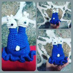 Mi monstruito #ganchillo #crochet #instaganchillo #instacrochet #crochetlove #handmade #hechoamano #amigurumi #galicia #pontevedra by monicafr1980