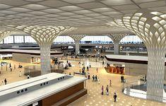 Brand new Terminal 2 at Mumbai Int'l Airport