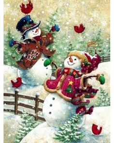 Image result for free snowman cross stitch patterns