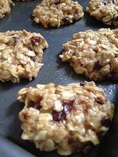 Weight Watcher Breakfast Cookies | Makes 28 Cookies. Nutrition per serving: Weight Watcher Points   2 ....