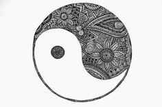 Yin & Yang drawing
