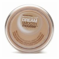 Maybelline Dream Smooth Mousse Foundation, Creamy Natural || Skin Deep® Cosmetics Database | EWG