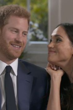 The Best Part of Prince Harry and Meghan Markle's Engagement Interview Is This Unaired Clip