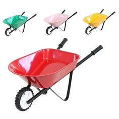 These fanstatic Steel Toy Wheelbarrows are suitable for indoor or outdoor use and can be personalised with your child's name for a small additional cost. It's ideal for carting toys around or simply helping mum or dad outside with the gardening Kids Wagon, Dolls Prams, Name Stickers, Pull Toy, Wheelbarrow, Toddler Gifts, Outdoor Fun, Kid Names, Cool Toys