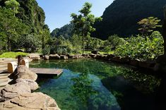 The Banjaran Hotsprings Retreat Places Around The World, Around The Worlds, Ipoh, Natural Wonders, Asia Travel, Beautiful Places, The Incredibles, River, Nature