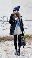 By keeping within two colour palettes, this stylish outfit looks coordinated, not busy. www.justblynk.com
