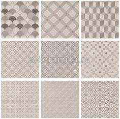 Плитка напольная KERAMA MARAZZI Карнаби-Стрит 200х200 декор орнамент беж 1575T