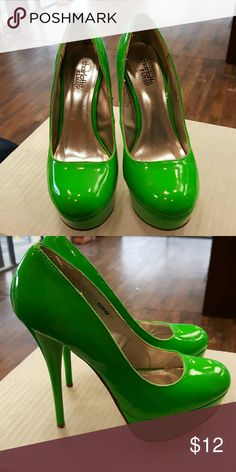Charlotte russe heels Charlotte russe heels has some wear still in good condition Charlotte Russe Shoes Heels