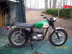 triumph 500 | 1969 Triumph 500 T100C