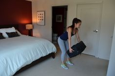 Who says you can't get active while on the road? Check out our 10 workout moves for your hotel room featuring Jackelyn Ho from @Fiterazzi Magazine http://www.onemedical.com/blog/live-well/hotel-workout/