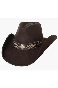 49397609997 Bullhide Hangin  Out Brown Wool Cowgirl Hat