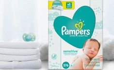 2b110f0bf69d3 Amazon  Pampers Sensitive Baby Wipes 576-Count (9 Refill Packs) ONLY  12.86  Shipped!