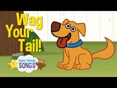 Wag Your Tail | Animal Action Verb Song | Super Simple Songs - YouTube