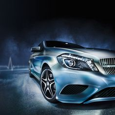 Distinctive on the outside, inspirational on the inside. The A-Class will leave you awestruck at every angle.