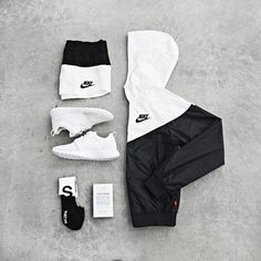 ideas for sport style gym roshe Nike Outfits, Sport Outfits, Cool Outfits, Girly Outfits, Fashion Mode, Sport Fashion, Urban Fashion, Mens Fashion, Fashion Outfits