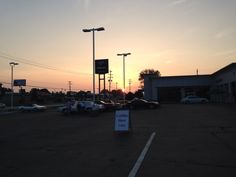 Early morning start at the 2014 vintage car shows
