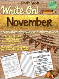 Writing is a significant part of the English classroom, but more so, narrative, informational, and persuasive/argument writing is imperative in the Common Core Standards.  Students are expected to be able to inform, entertain, argue and persuade others before they enter college. (scheduled via http://www.tailwindapp.com?utm_source=pinterest&utm_medium=twpin&utm_content=post114158377&utm_campaign=scheduler_attribution)