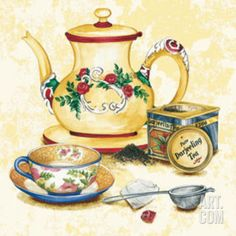 Thé Tea I Print at Art.com